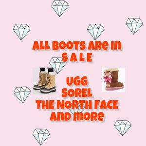 On SALE all boots